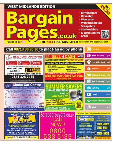 Bargain Pages WM 2014 09 26 by Loot issuu