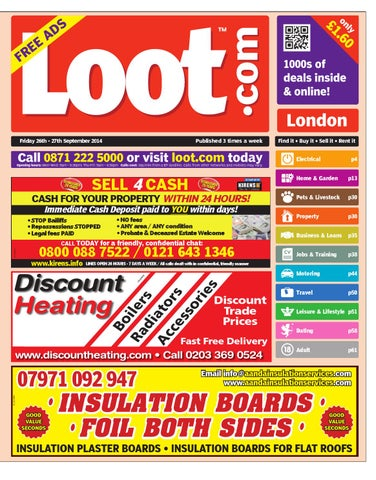 Loot London 2014 09 26 by Loot - issuu 2f30efb4476d6