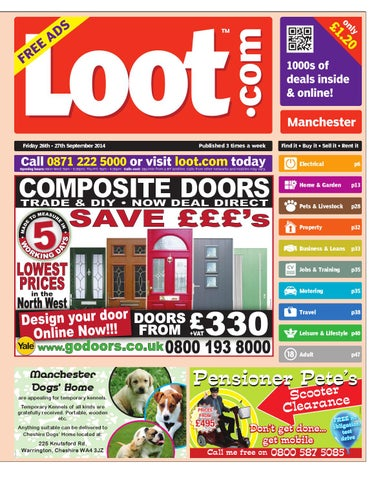9a3260987fae Loot Manchester 2014 09 26 by Loot - issuu