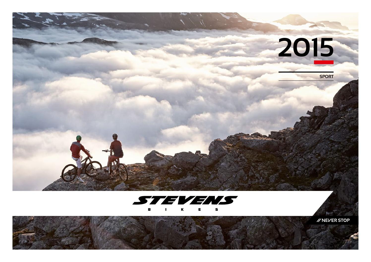 Catalogo Stevens 2015 By Bikemtbnet Issuu Of A Bike Shock Absorbers 101 Tire Types Bicycle Geometry Fitting For