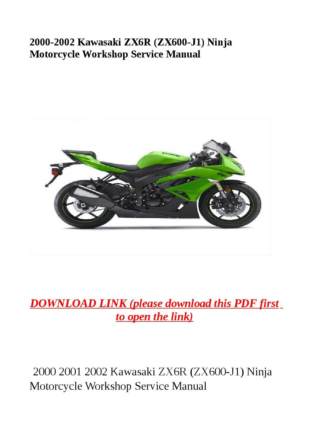 2000 2002 kawasaki zx6r zx600 j1 ninja motorcycle. Black Bedroom Furniture Sets. Home Design Ideas