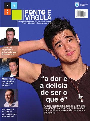 Revista Ponto Vírgula Ano 7 Número 12 Março De 2017 By Ponto