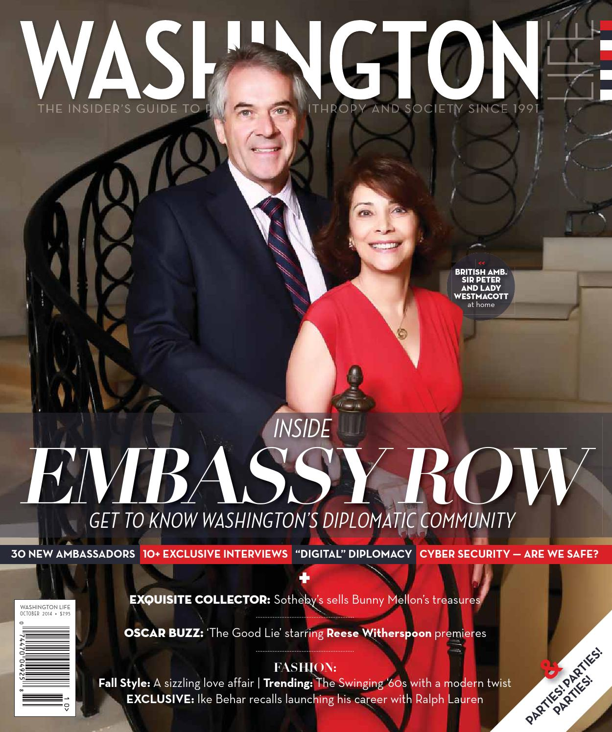 Community At Embassy Park Dc Pool: EMBASSY ROW: Get To Know Washington's Diplomatic Community