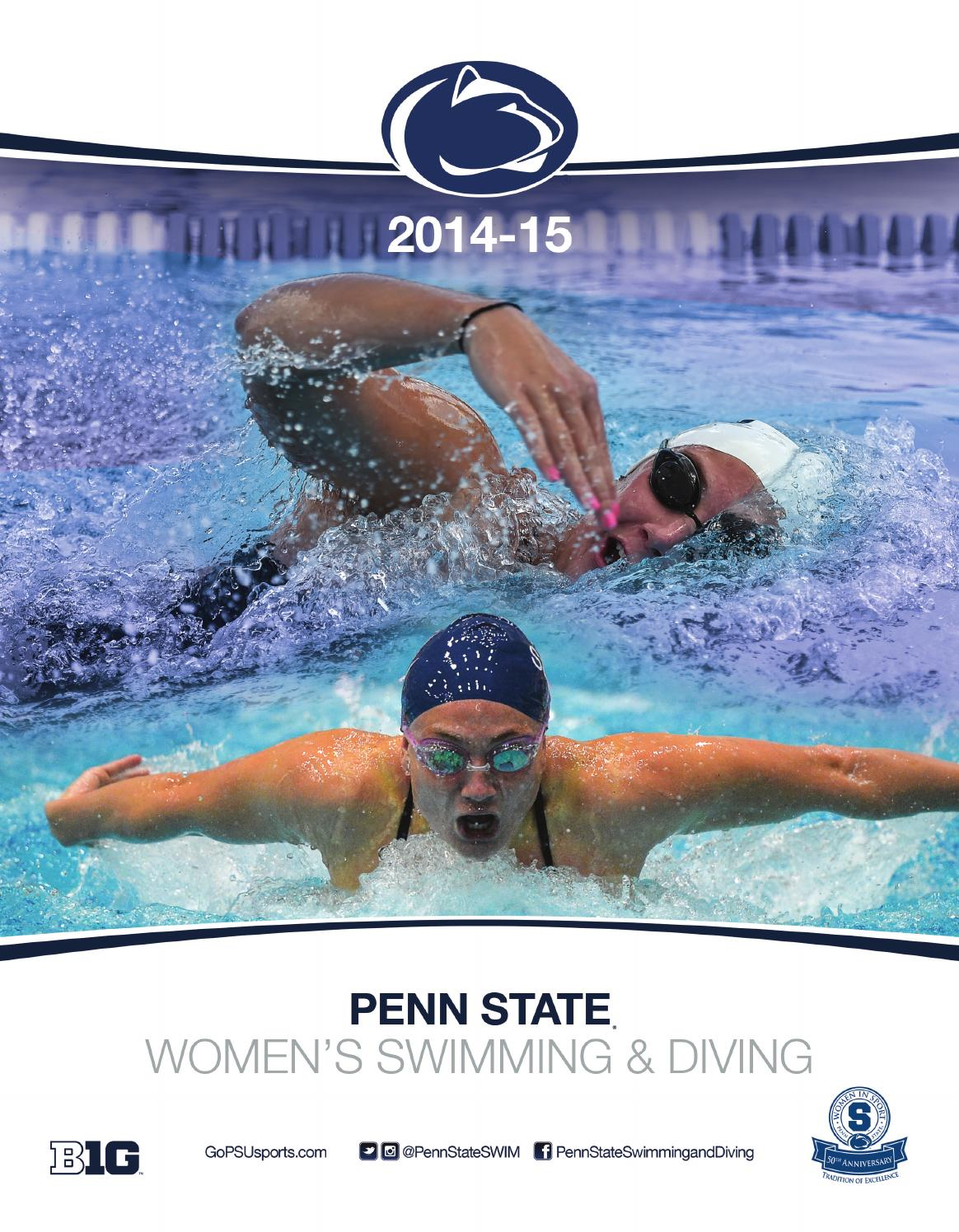 2014 15 Penn State Women 39 S Swimming Diving Yearbook By Penn State Athletics Issuu