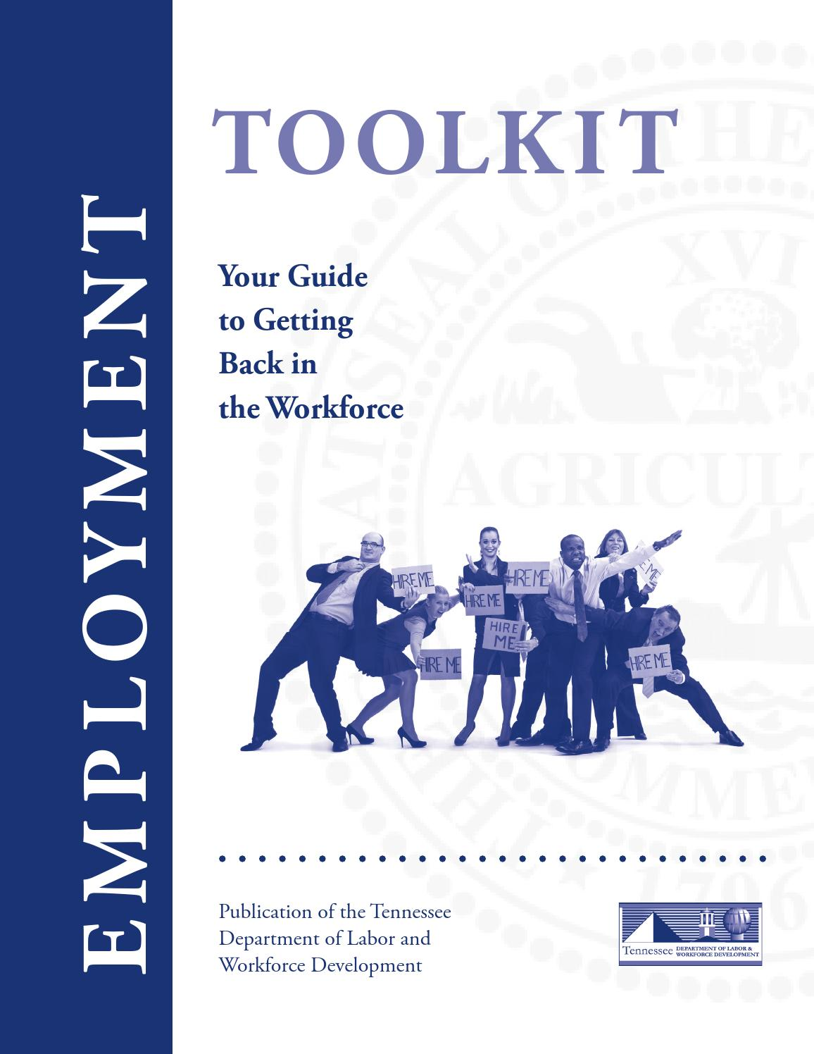 Unemployment Toolkit By Tn Department Of Labor Workforce