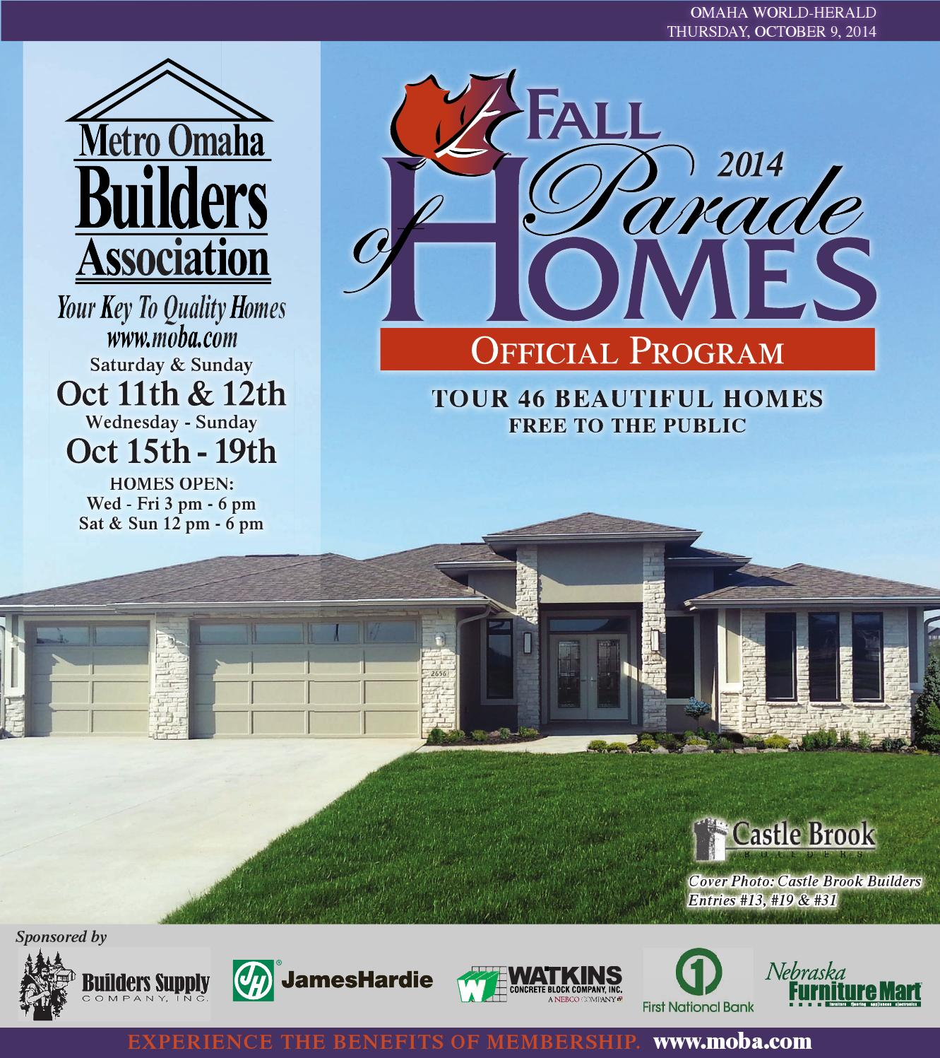 moba fall parade of homes by omaha world herald issuu