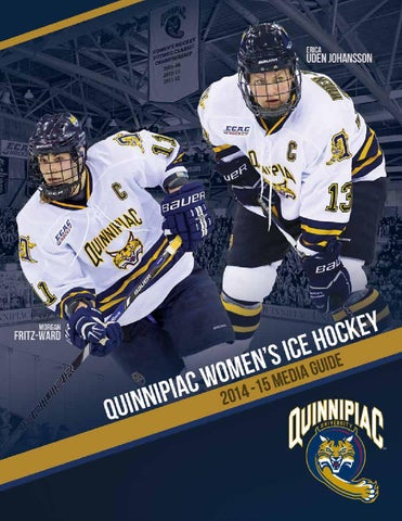 2692aa04788 2014-15 Quinnipiac Women s Ice Hockey Media Guide (Updated 10.7.2014 ...