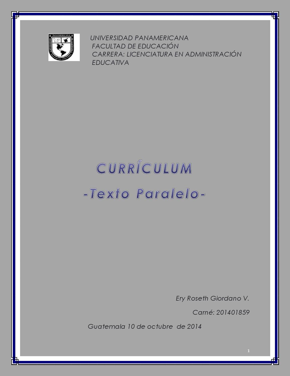 Texto paralelo by Ery RG - issuu