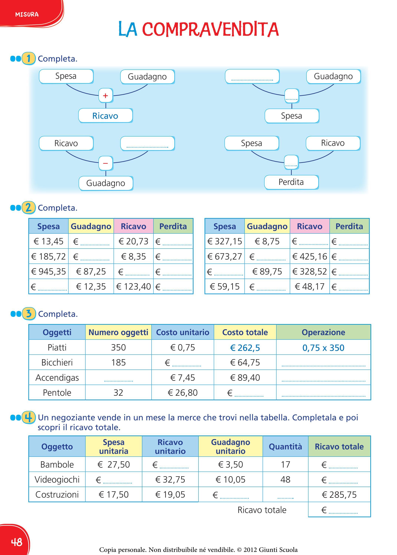 285 75 16 >> il mio super quaderno 5 matematica by Amelie - Issuu