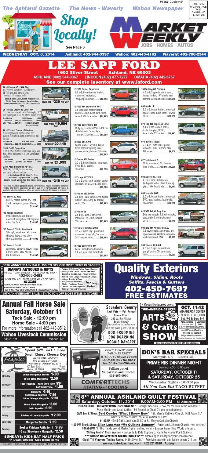 Market Weekly 10 8 14 By Southwestiowanews Com Issuu