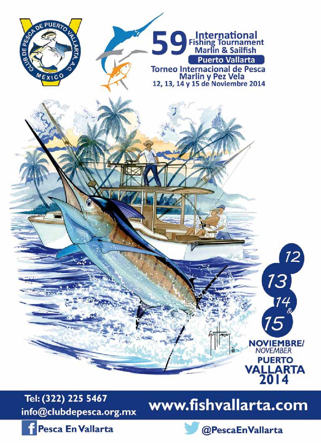 59 Torneo Internacional De Pesca Marlin Amp Pez Vela By Club