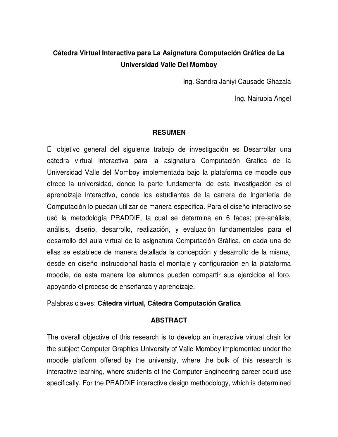 catedra virtual interactiva by nairubia1309 - issuu