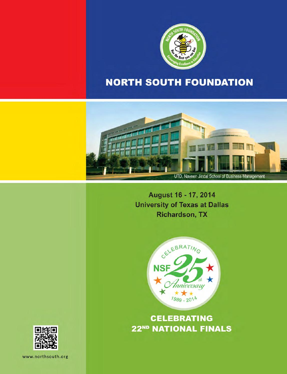 NSF - 22nd finals 2014 - 25th Anniversary at UT Dallas by North ...