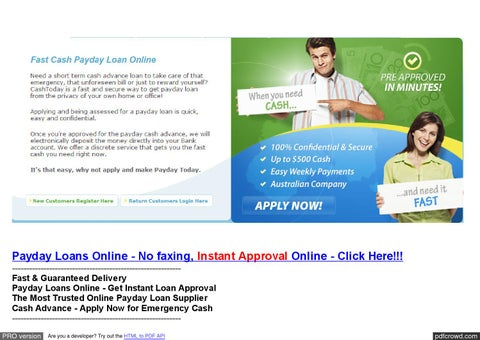 Same day money loans bad credit photo 2
