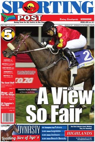 2303cb84697b 10-12 Oct #2085 Sporting Post by Sporting Post - issuu