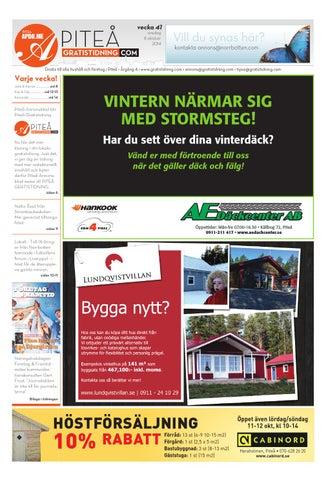 newest ae313 5923c Pitab 2014 vecka41 by Svenska Civildatalogerna AB - issuu