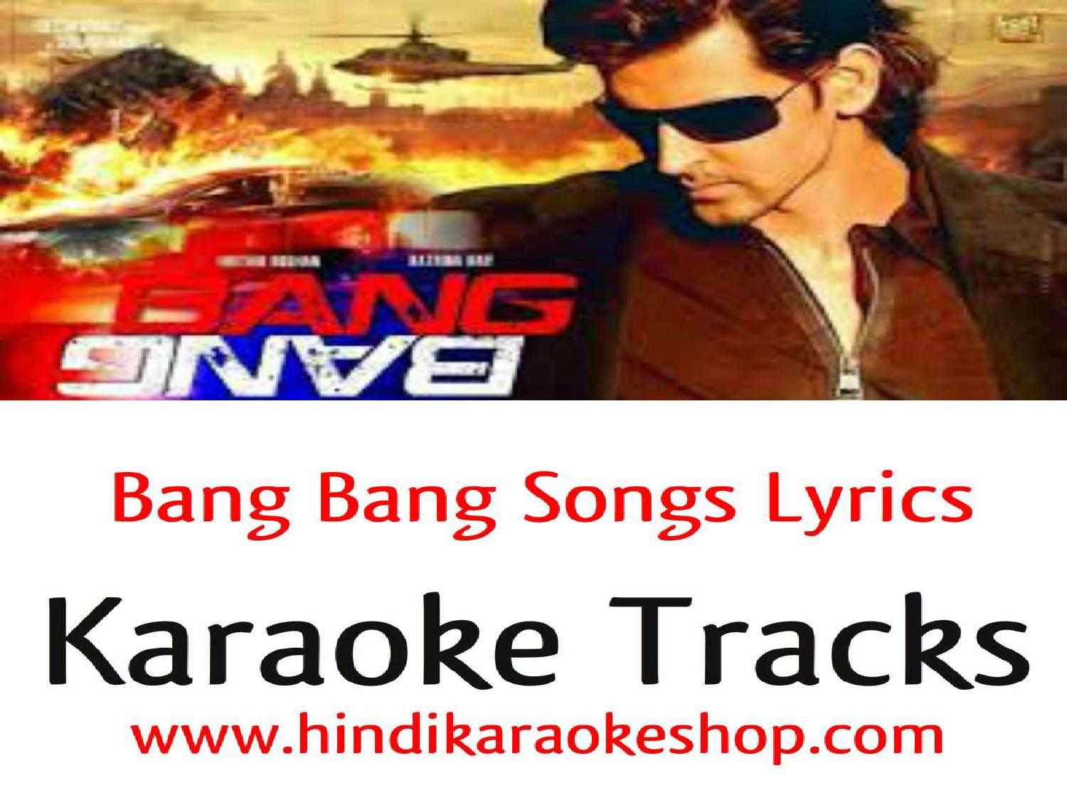 Bang bang songs hindi karaoke with lyrics by bradpitt753 - issuu