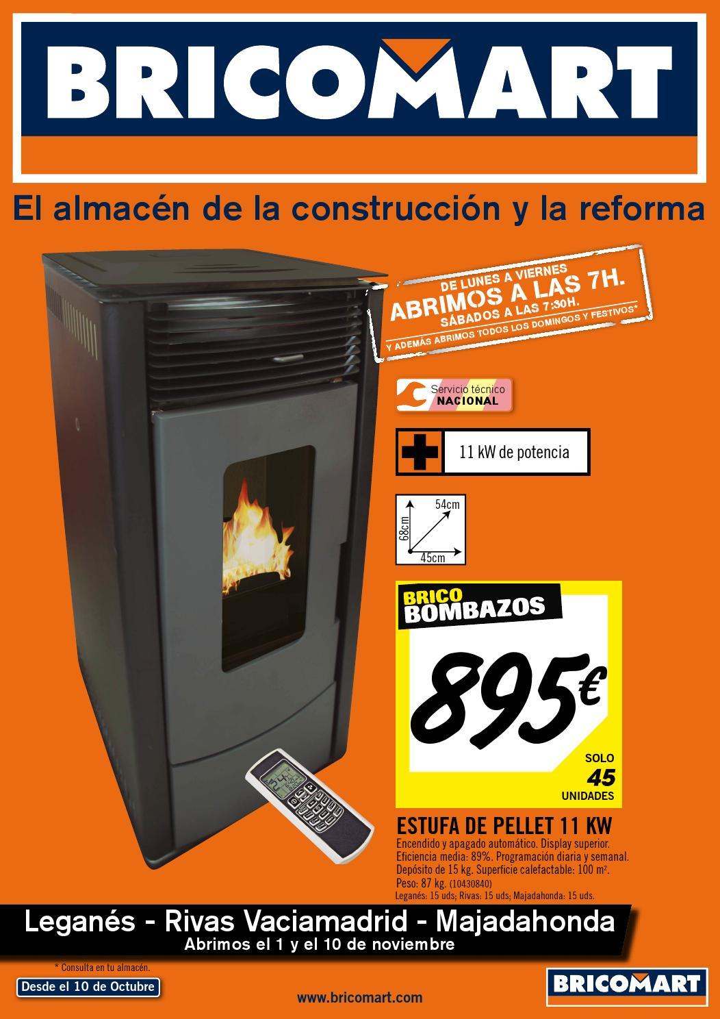 Calefaccin de pellets con radiadores free com estufas en - Pellets bricomart ...