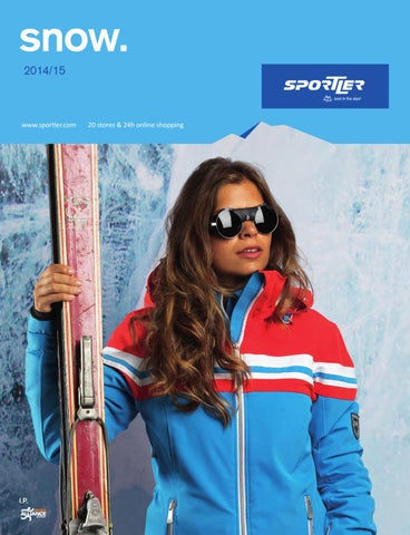 SPORTLER snow. 20142015 by SPORTLER issuu