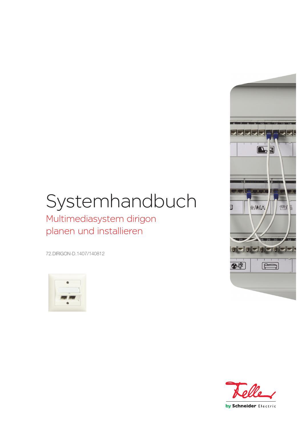 Systemhandbuch dirigon by Feller AG - issuu