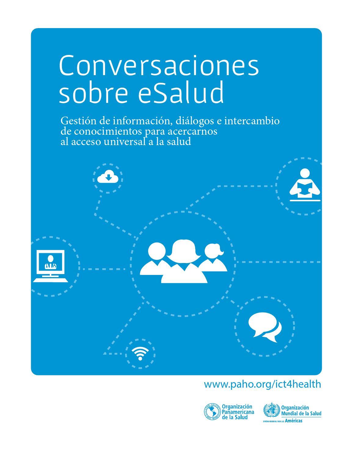 Conversaciones sobre eSalud OPS/OMS by Mauricio Parada Beltrán - issuu
