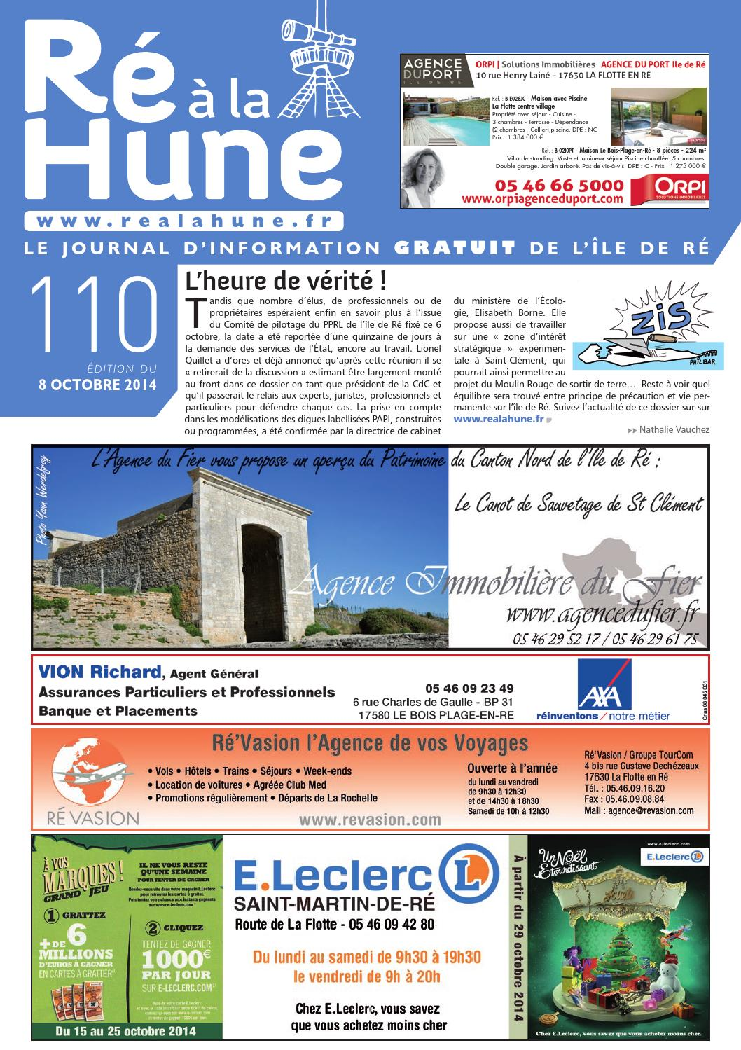 Ré à La Hune N 110 By Rhea Marketing Issuu