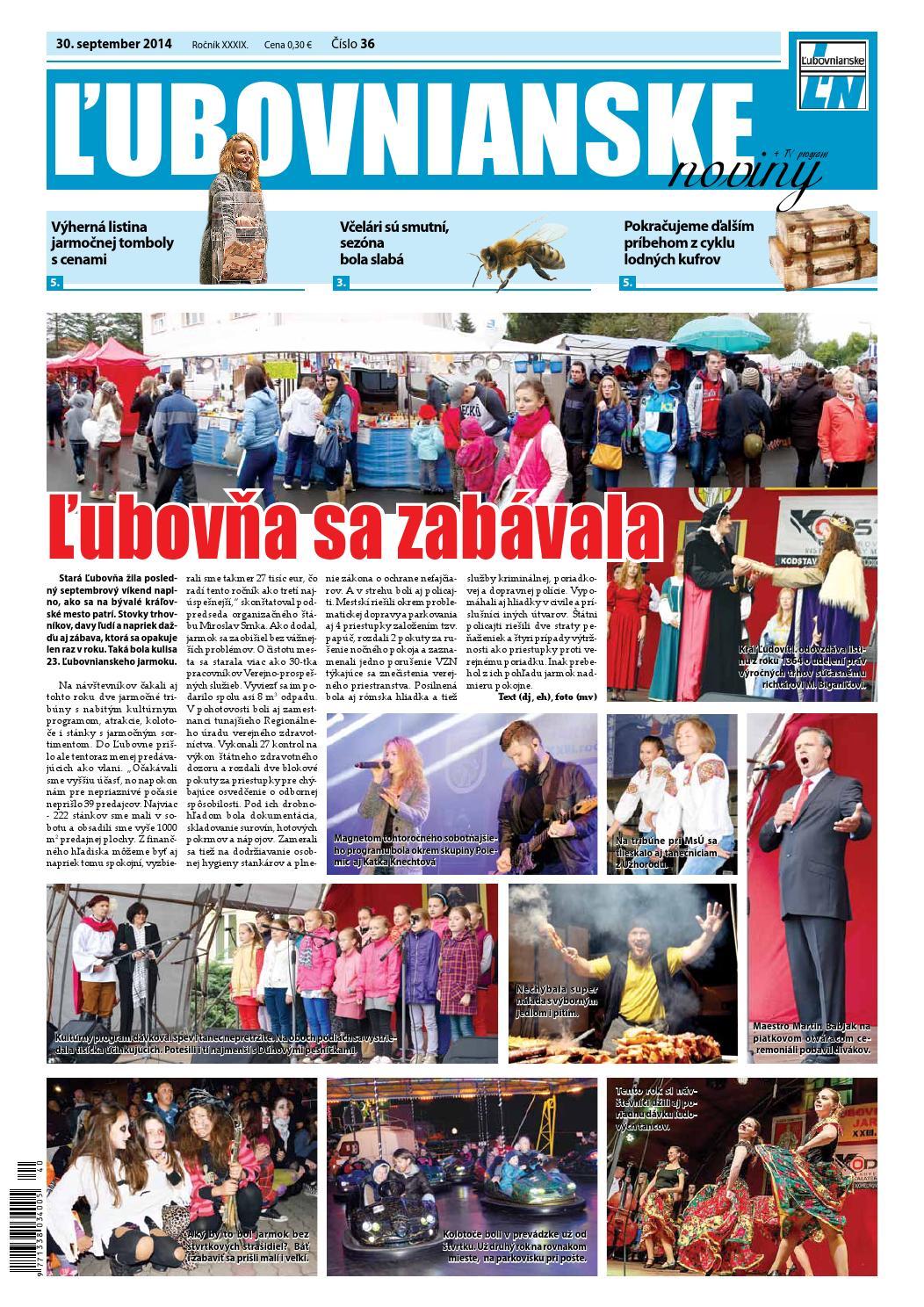 Ľubovnianske noviny č. 36 by Vladimir Zima - issuu a820aa0ee8c
