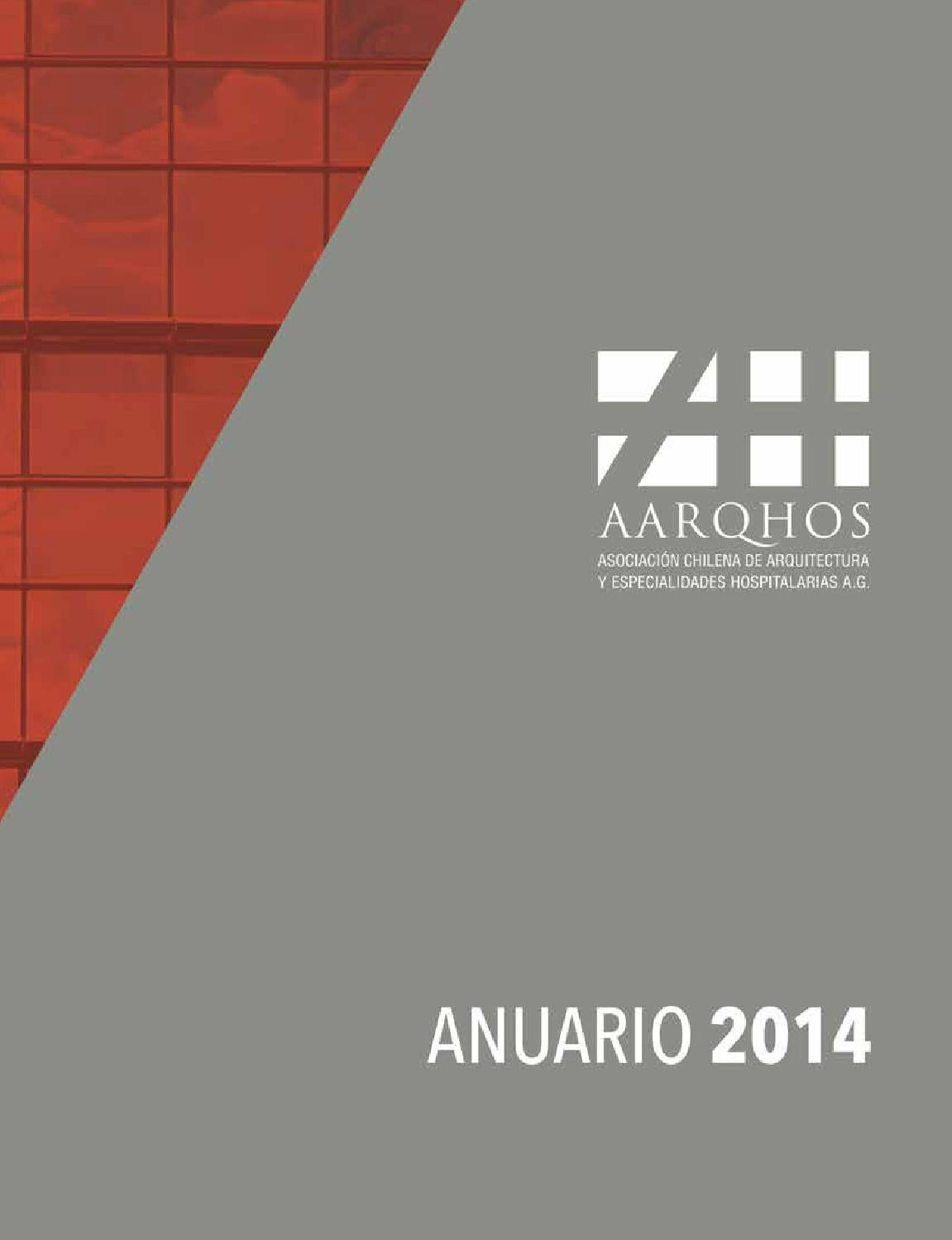 Anuario AARQHOS 2014 by Edirekta Marketing Integral - issuu