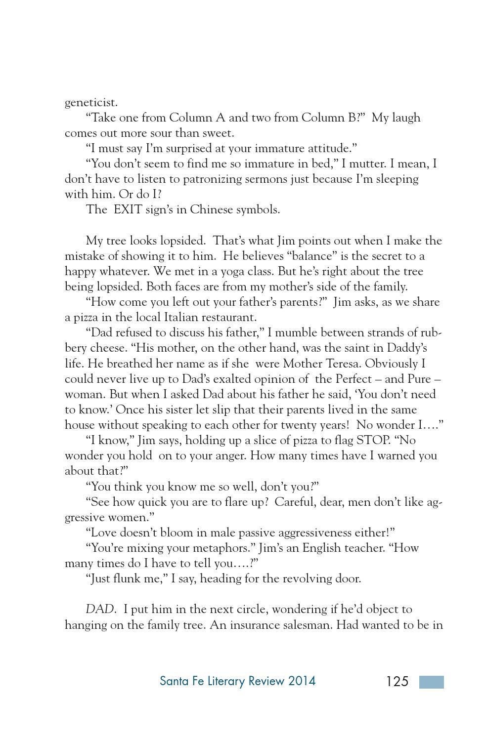 Santa Fe Literary Review 2014 By Santa Fe Community College Issuu