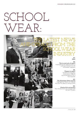 8564902c23 CWB Schoolwear by fashion buyers Ltd - issuu