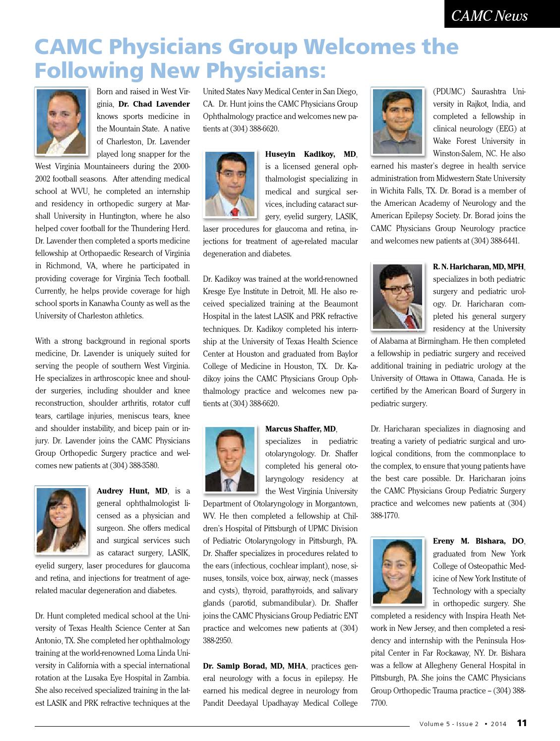 WV Physician Magazine Volume 5, Issue 2 by P  J  Hutton - issuu