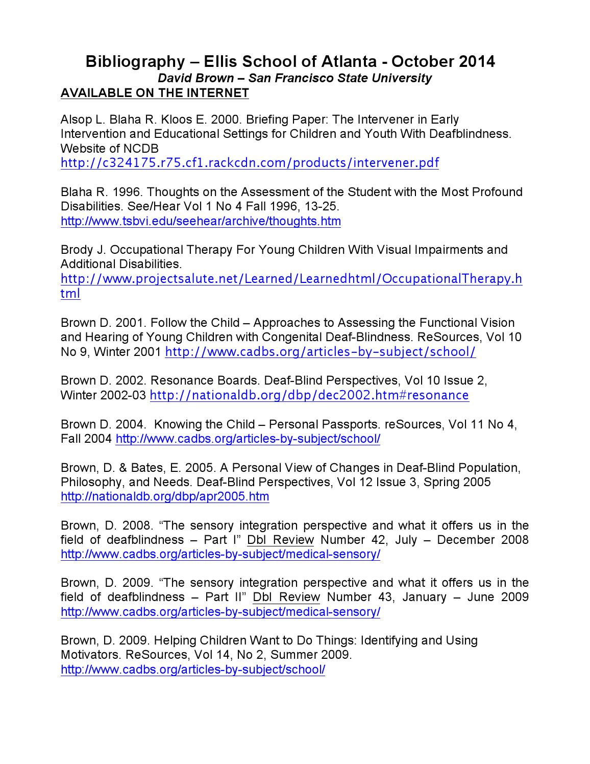 Bibliography by anomalee - issuu