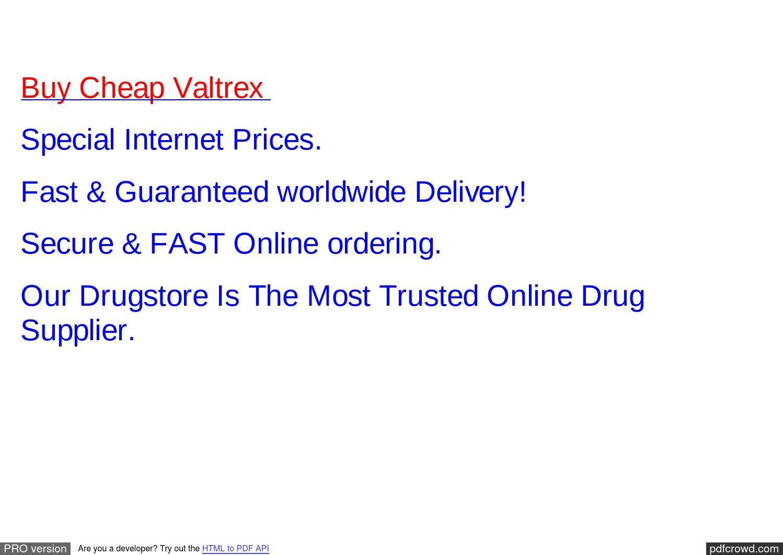 Valtrex prescribing information fdating