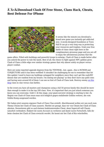 page 1 thumb large - clash of clans hack ios app download a hundred free conflict of clans hack final android no survey by coc