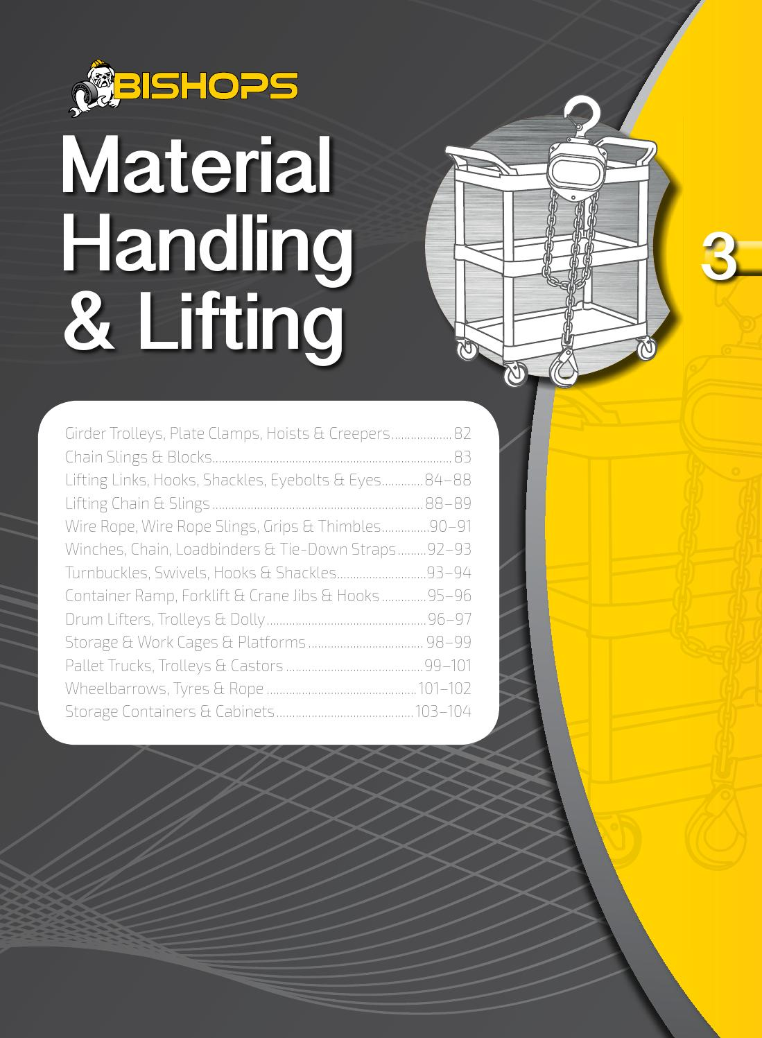 Bishops Material Handling & Lifting by ATOM - issuu