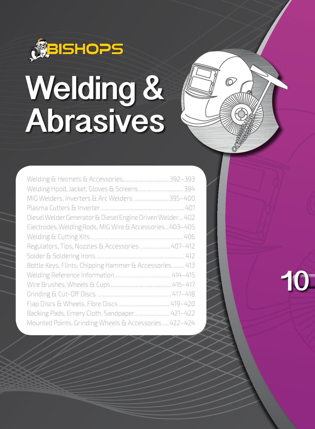 Bishops Welding Abrasives By Atom Issuu Tig Handpiece Diagram