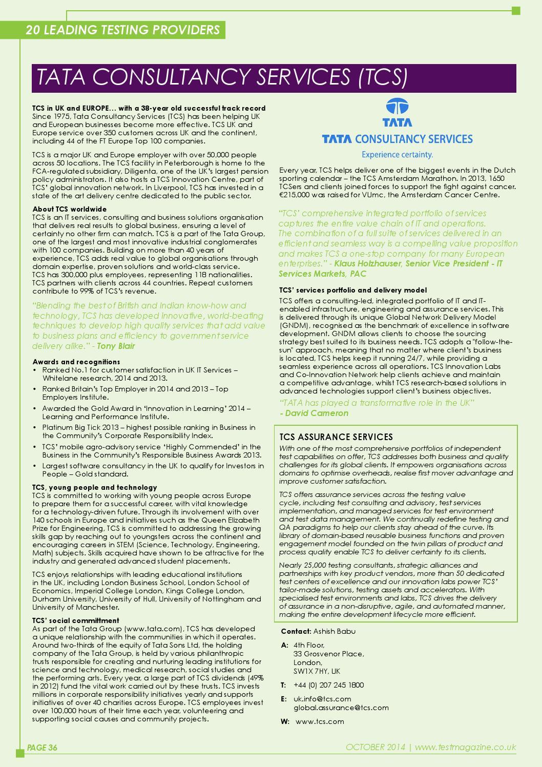 TEST Magazine - October-November 2014 by 31 Media - issuu