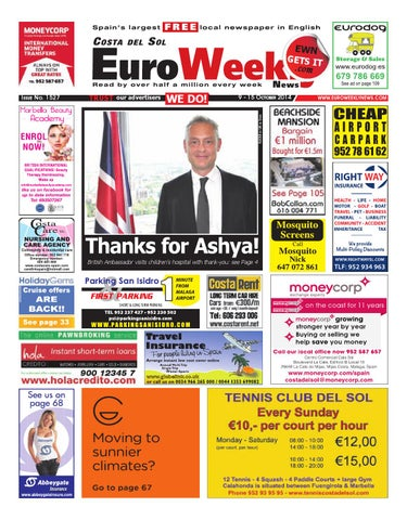 Euro Weekly News - Costa del Sol 9 - 15 October 2014 Issue 1527 by ... 842cfb8dc