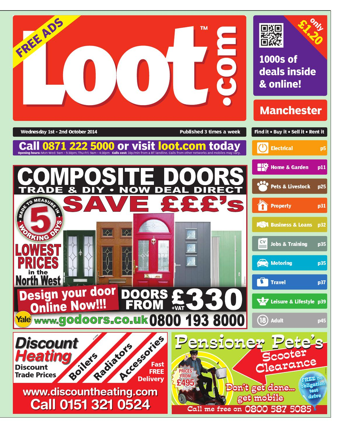 82ae564ba87 Manchester Loot, October 1st 2014 by Loot - issuu