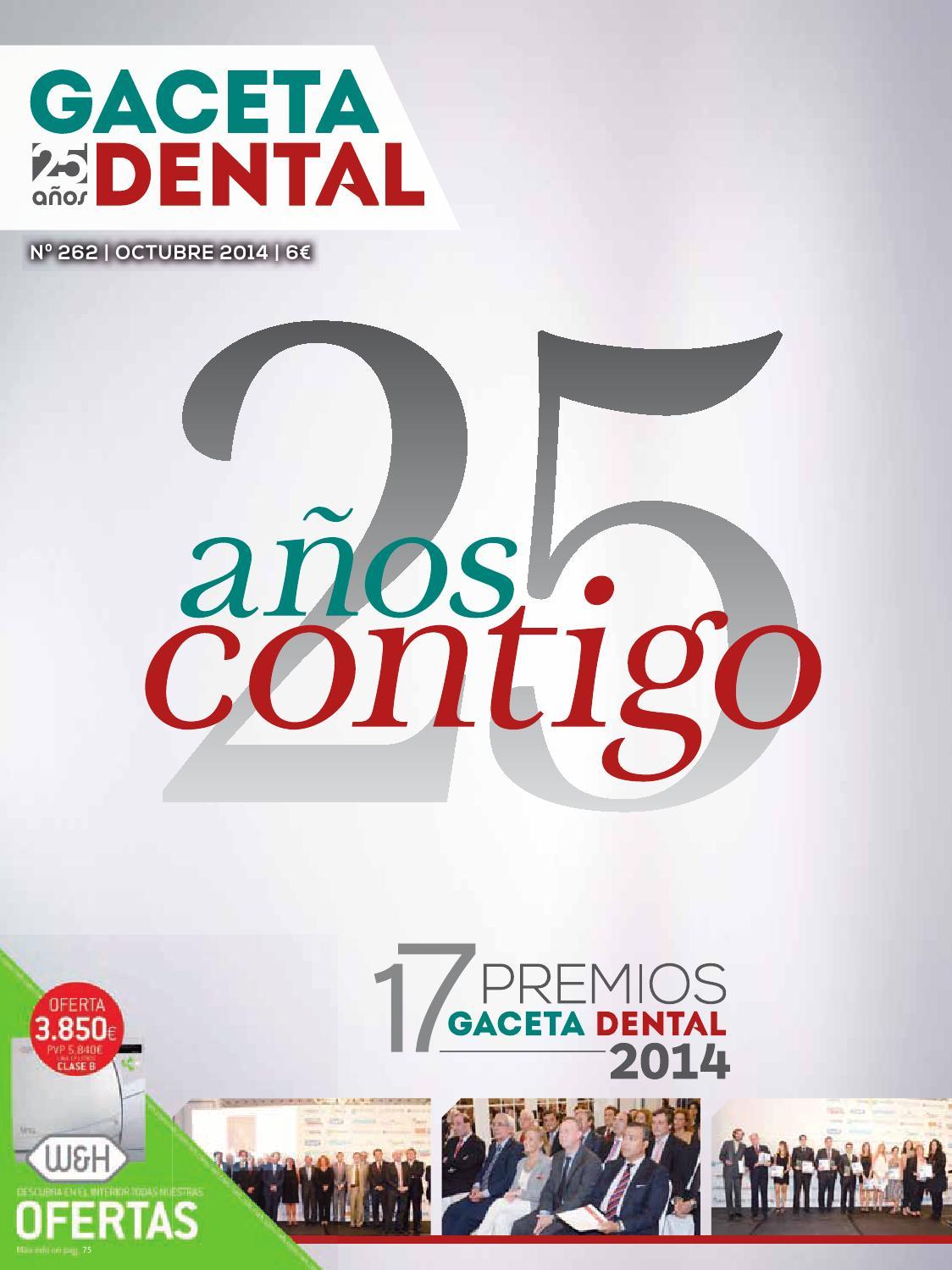Gaceta Dental - 262 by Peldaño - issuu