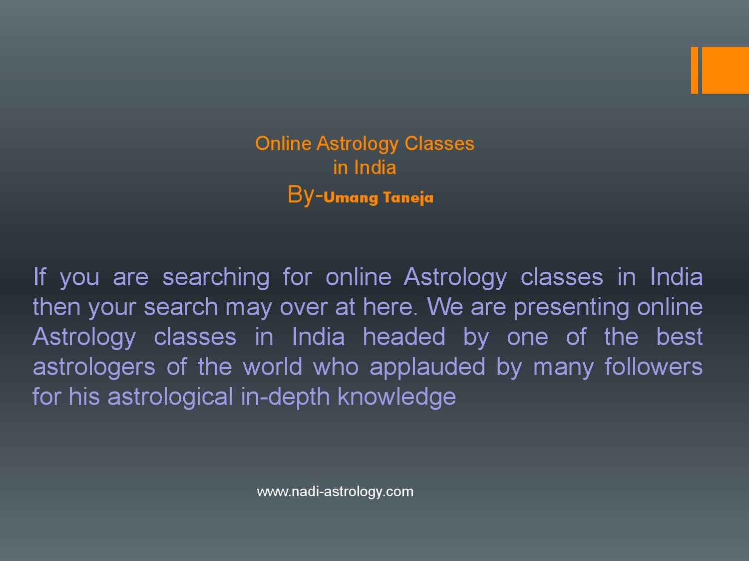 Online astrology classes in india docx by vinay - issuu