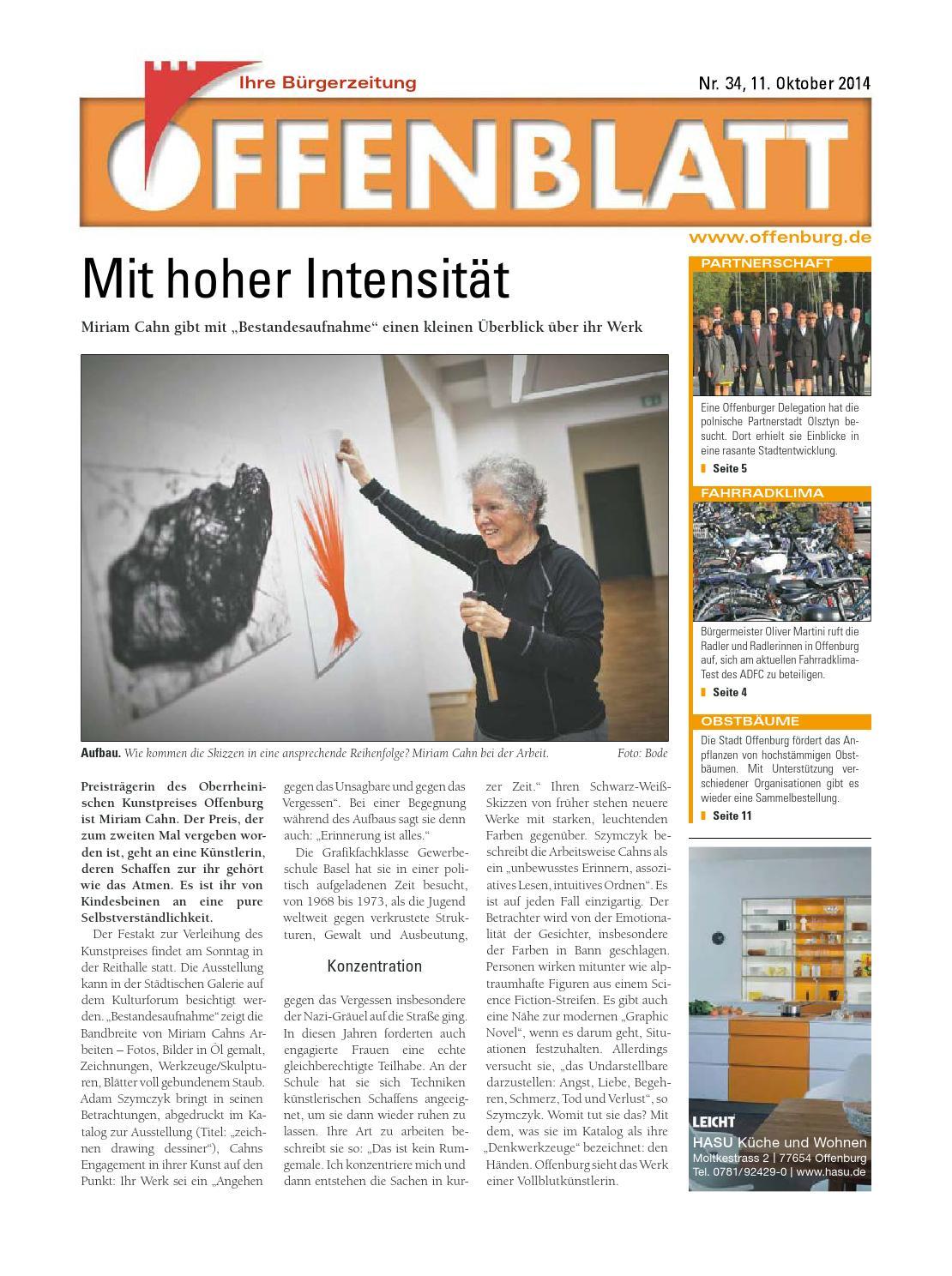 Offenblatt 34 2014 by Offenburg Offenblatt - issuu