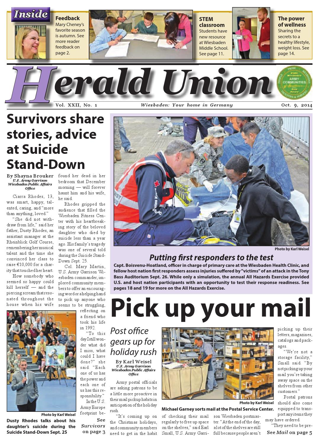 Herald Union Oct 9 2014 By Advantipro Gmbh Issuu Displaying 16gt Images For Current Electricity Kids