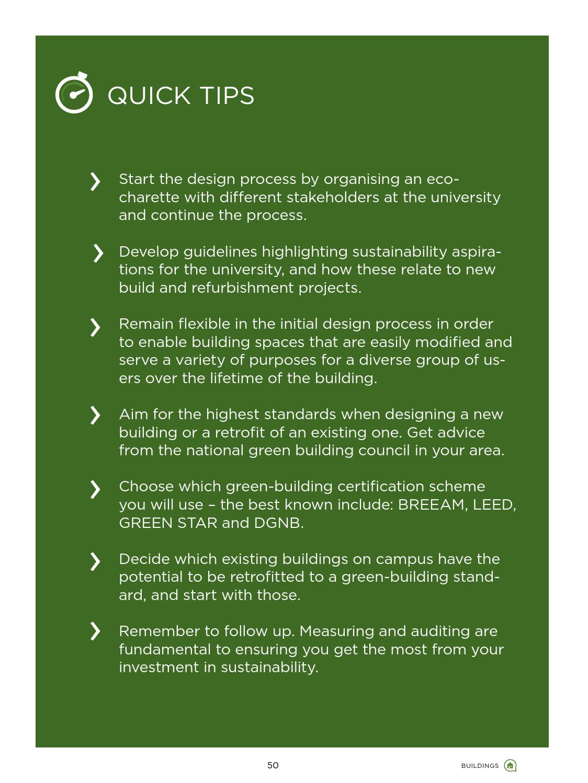 Iaru Green Guide For Universities Pathways Towards