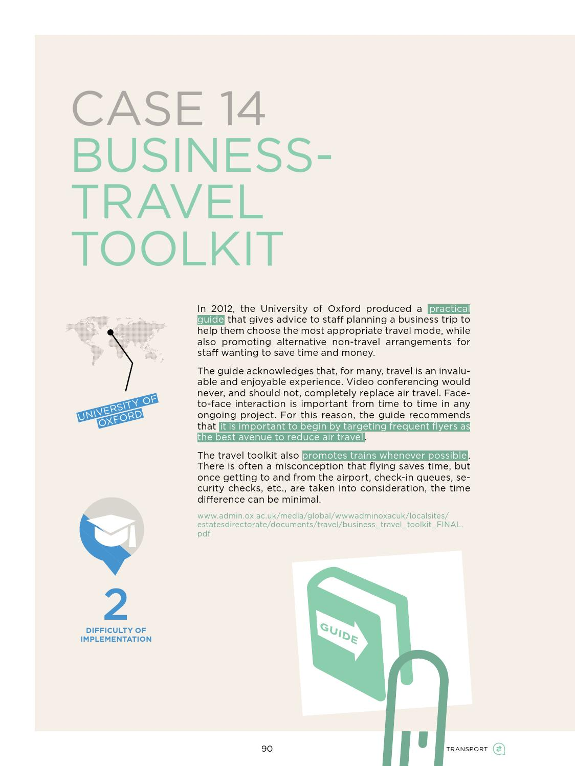 The Business Travel Toolkit
