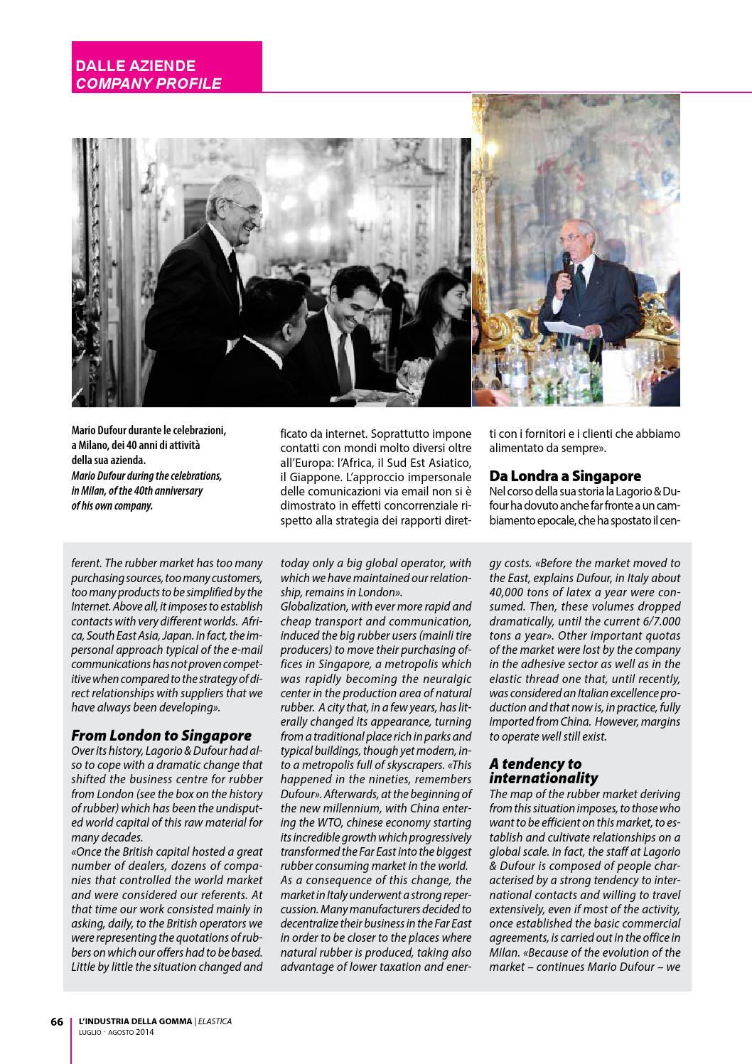 L'Industria della Gomma - 07/08 2014 by Edifis - issuu
