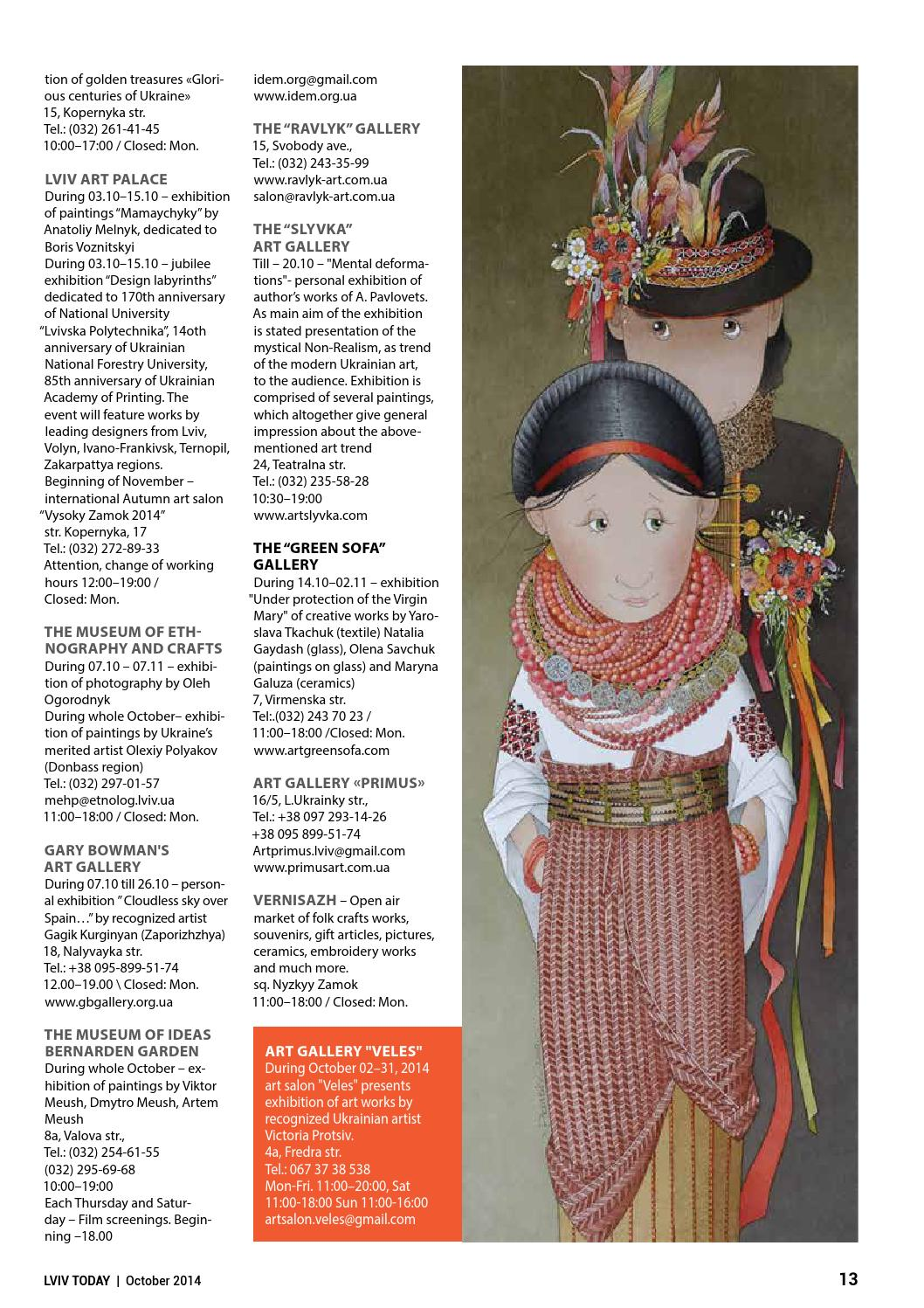 72, October 2014 by LVIV TODAY - issuu