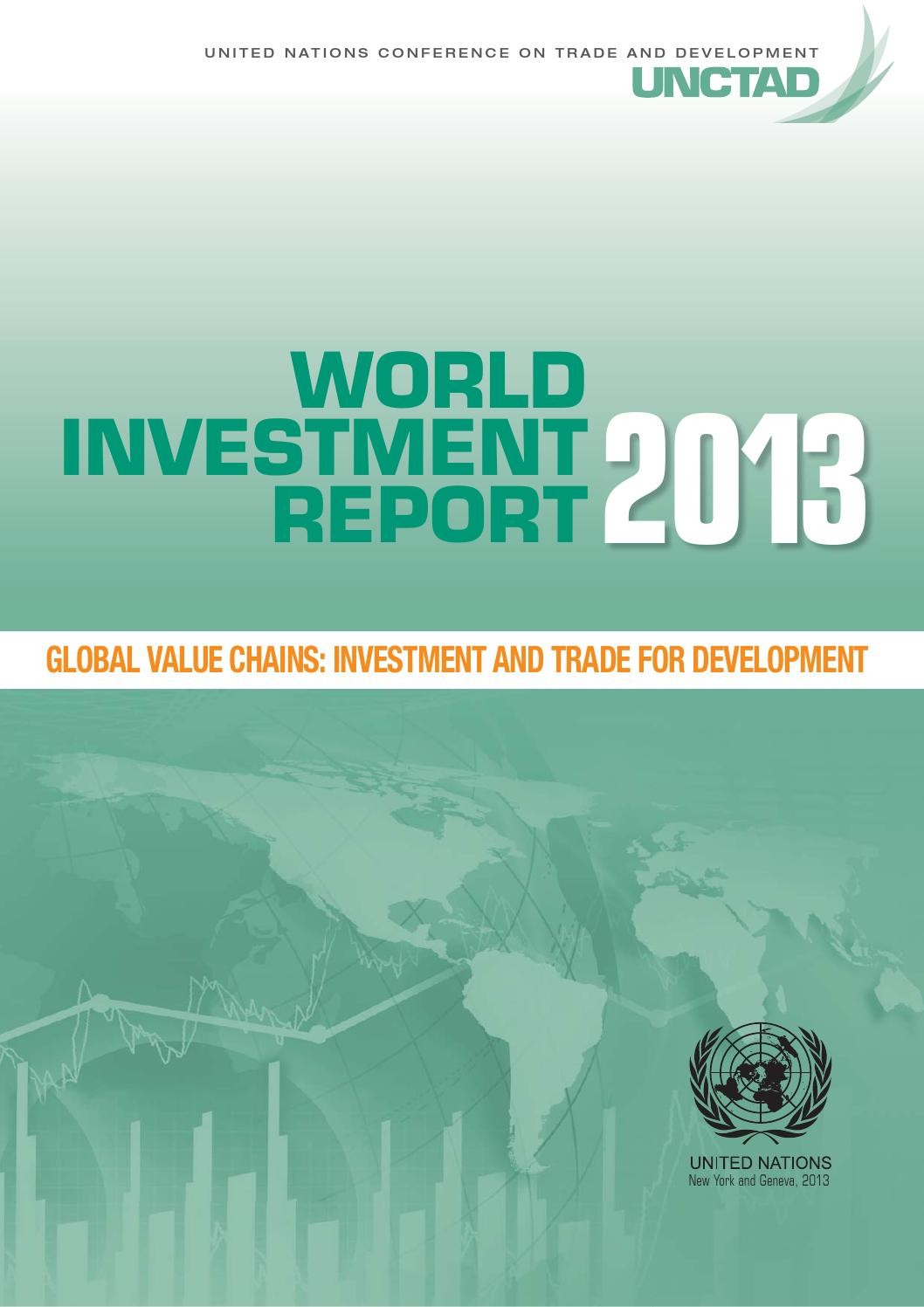 2013 unctad wir gvcs and development