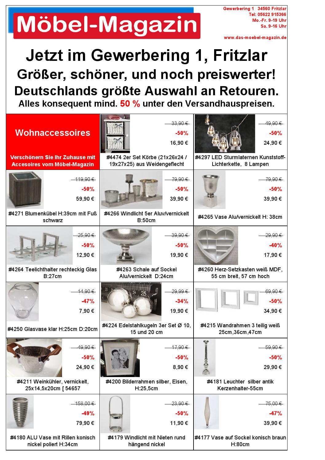 m bel magazin fritzlar katalog 8 by klaus peter. Black Bedroom Furniture Sets. Home Design Ideas
