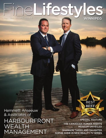 Fine Lifestyles Winnipeg Fall 2014 By Fine Lifestyles Issuu